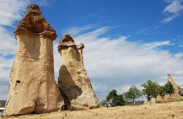 Турция: Каппадокия, скалы