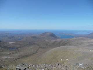 The Minch from Bidein a Ghlas Thuill Summit