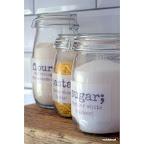 DIY jar labels