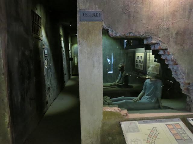 """Inside the Hoa Loa aka """"Hanoi Hilton"""" prison."""