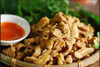 Đặc sản thịt chua Thanh sơn