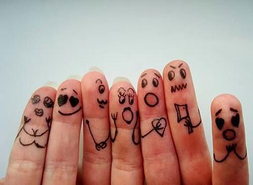 Tạo hình bàn tay xinh xắn