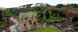 From The 3rd Deck at The Coloseum - Rome, Italy
