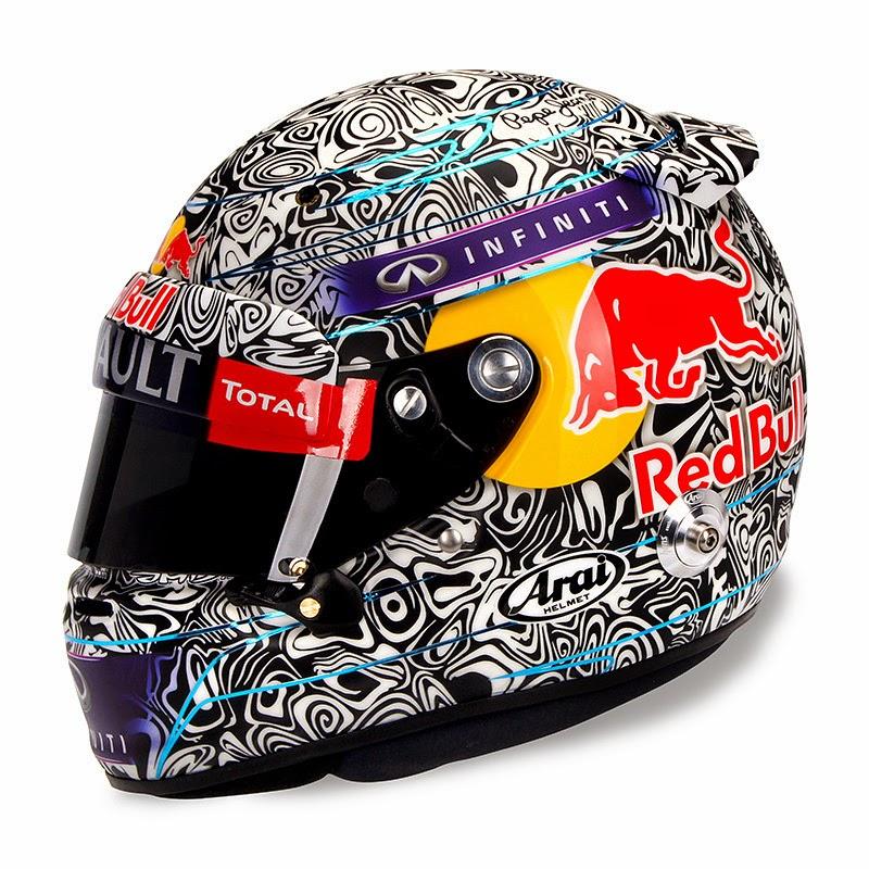 шлем Себастьяна Феттеля для Гран-при Италии 2014