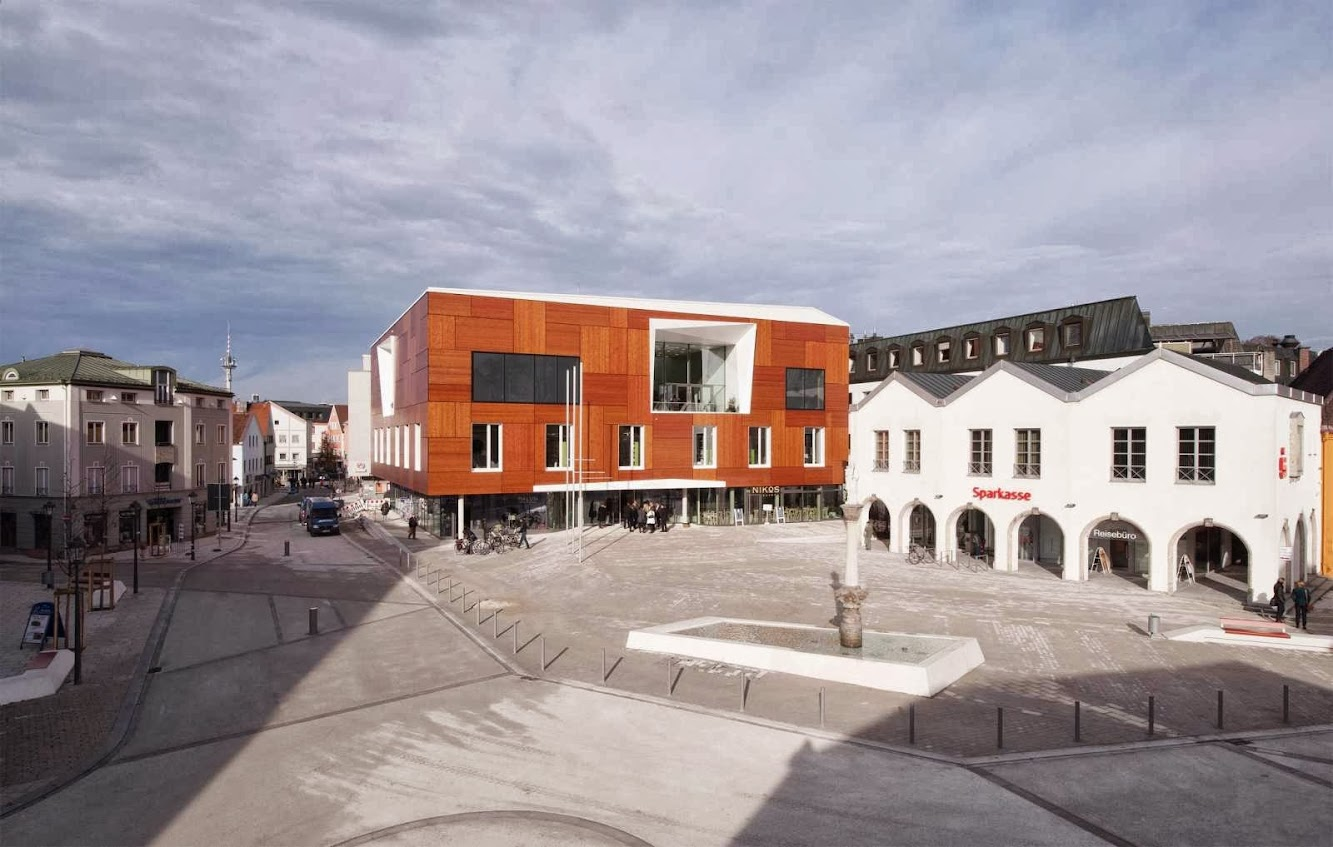 Bad Aibling City Hall by Behnisch Architekt