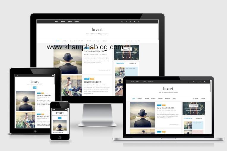 Blogger template responsive seo friendly