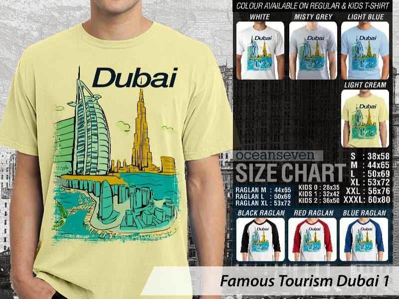 Kaos Wisata Dubai 1 Qatar distro ocean seven
