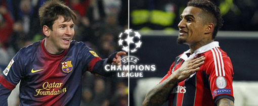 Barcelona vs. AC Milan en Vivo - Champions League