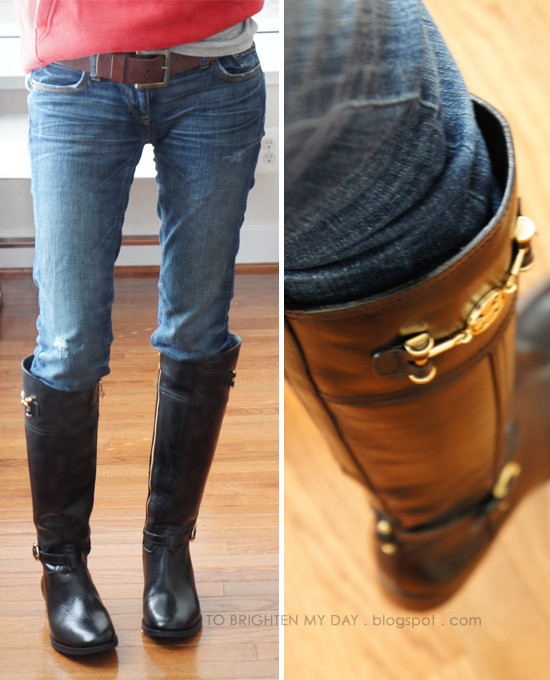to brighten my day: Riding Boots Part II: Tory Burch Nadine