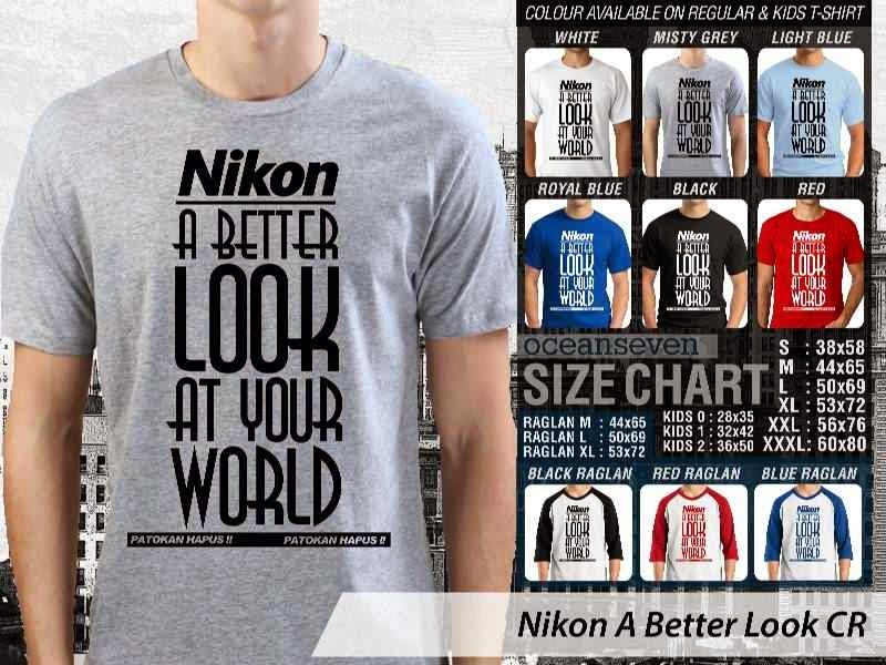 Kaos Photography Mania Nikon A Better Look distro ocean seven