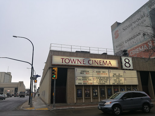 Landmark Cinemas Towne Cinema 8, 301 Notre Dame Ave, Winnipeg, MB R3B 1P2, Canada, Movie Theater, state Manitoba