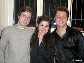 Stas Sagdeyev, Maryana Brodskaya and Maksym Dyedikov