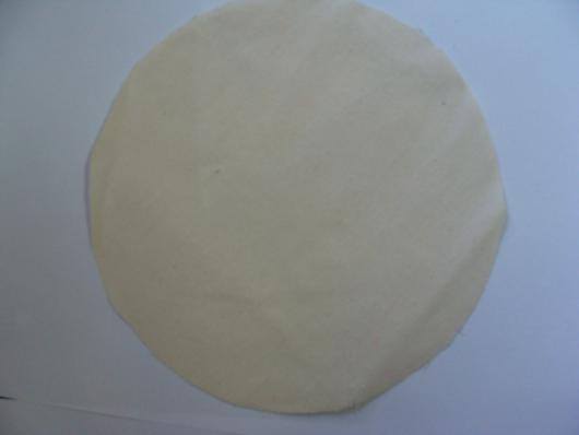 Corte tecido redondo