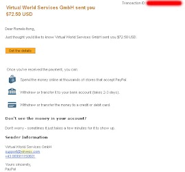 Second Life Payment Proof