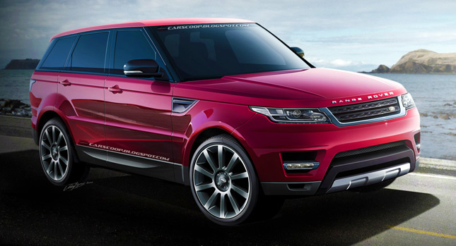 Future Cars: Conceptualizing the 2014 Range Rover Sport