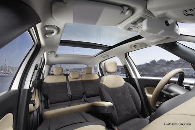 US Fiat 500L Interior