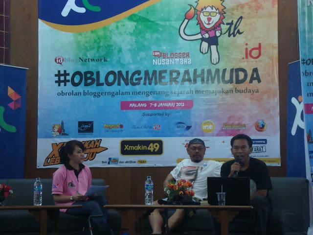 #OblongMerahMuda HUT ke 4 Blogger Ngalam | Farid Gaban
