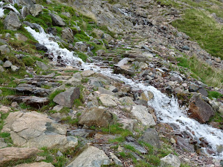 Beck over the path to Wasdale