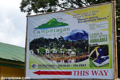 Camp@Tagan Lake Mirror and Hillside, Kapatagan, Digos, Davao del Sur