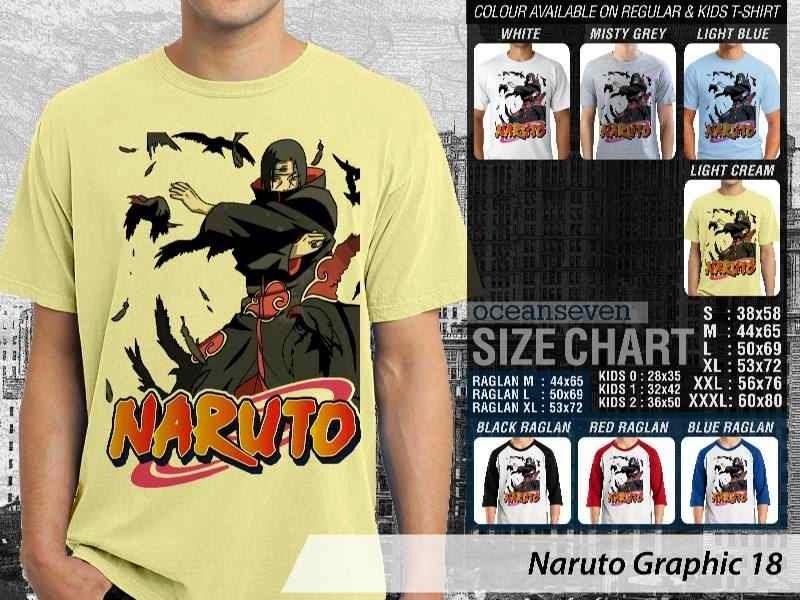 Kaos Distro Naruto 18 Manga