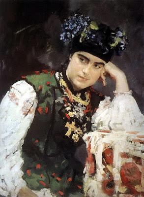 Valentin Serov - Portrait of Sophia. 1889