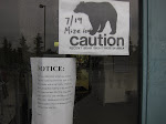 later...at the park center...I think a bear might have eaten a dog