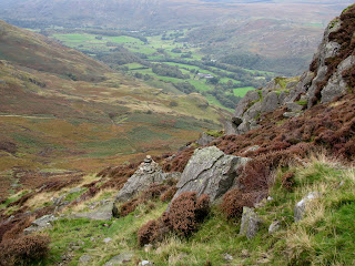 Ascent of Harter Fell looking to Eskdale