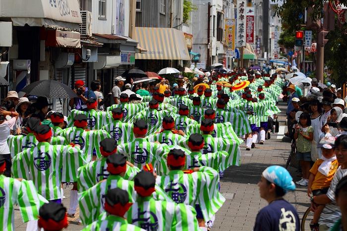 第59回よさこい祭り☆本祭1日目・上町競演場200☆上1目1165