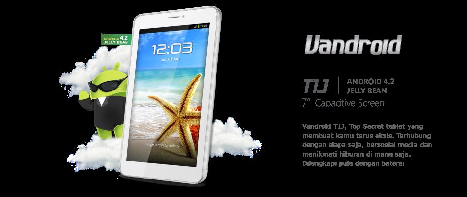 Advan Vandroid T1J - Spesifikasi Lengkap dan Harga