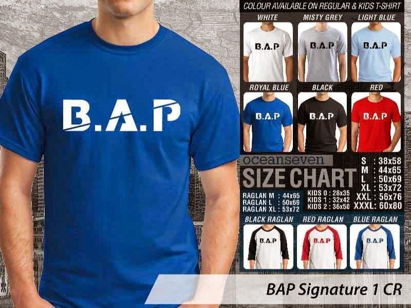 KAOS BAP Signature 13 K Pop Korea distro ocean seven