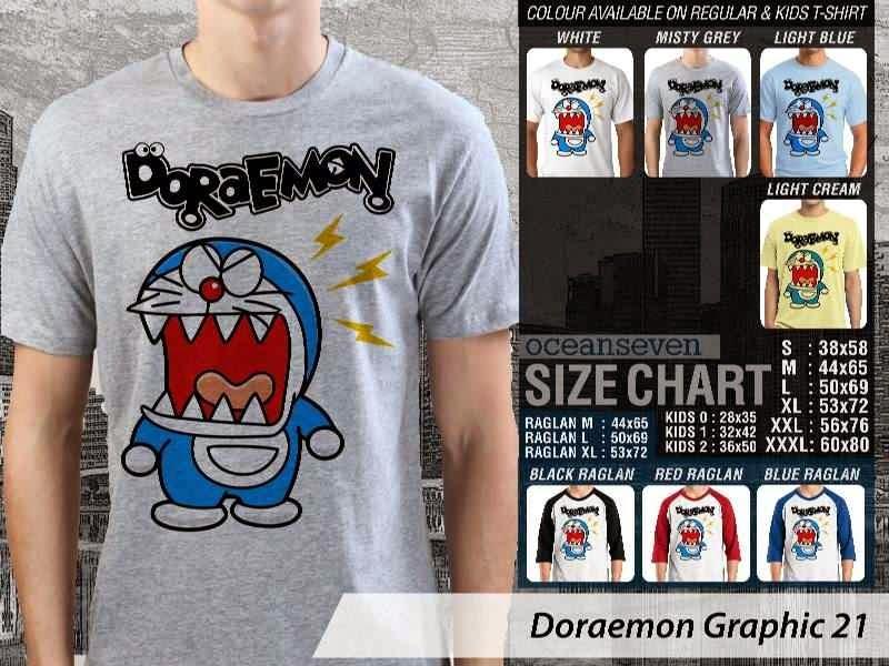 KAOS Doraemon 61 Manga Lucu distro ocean seven