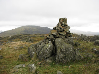 Hard Knott Summit with Harter Fell