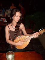 My friend Violeta as a model for Aurellia