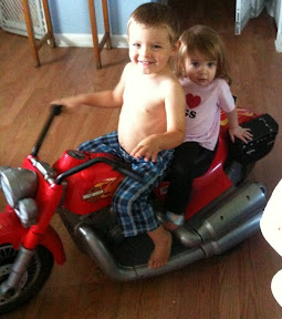 Our Power Wheels Harley-Davidson Motorcycle