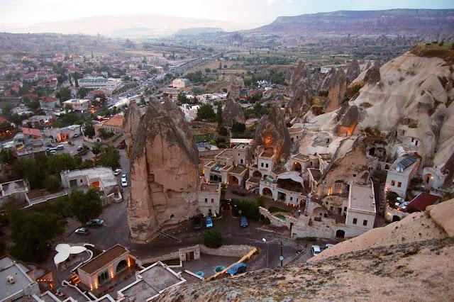 Турция: Город Гереме, вид сверху
