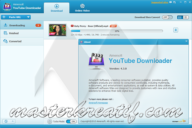 Aimersoft YouTube Downloader 4.3