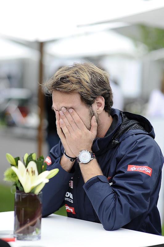 фэйспалм Жан-Эрика Верня на Гран-при Австралии 2012