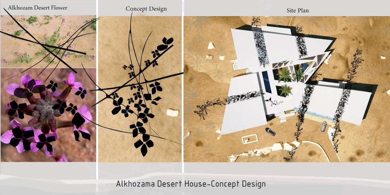 Alkhozama Desert House by Ark Kassam Architects