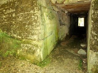 pomieszczenia w bunkrze