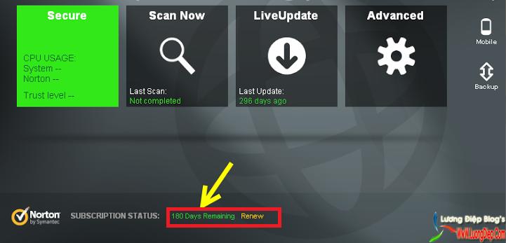 Subscription Norton Antivirus amp; Internet security updates for life!This.