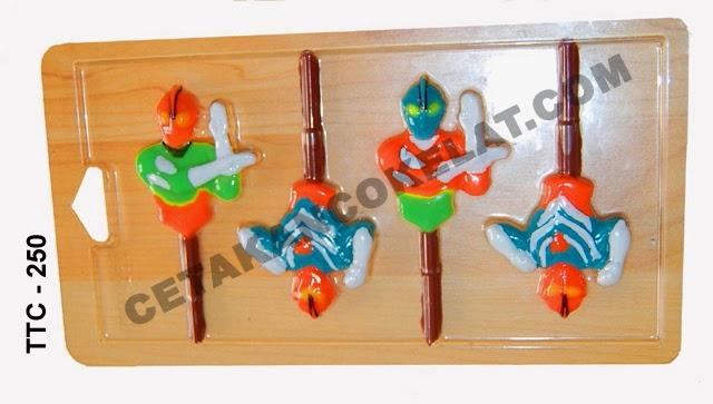 Cetakan Coklat TTC250 Ultraman superhero