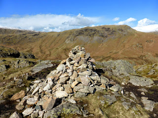 Gibson Knott summit with Steel Fell