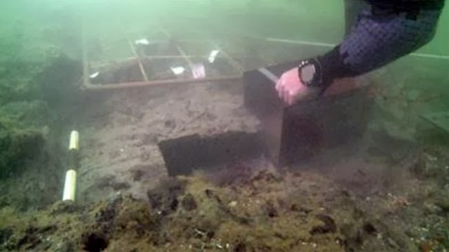 Underwater Archaeology: UK maritime site battered by storms
