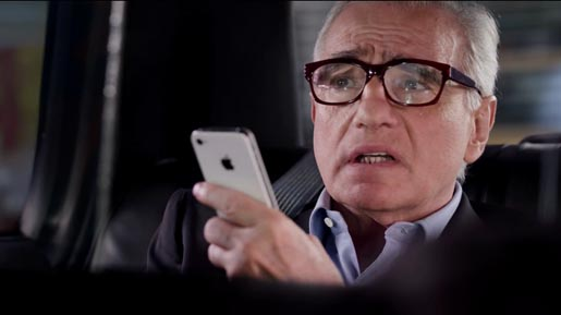 "Martin Scorses ""Busy Day"" Apple iPhone Siri TV Ad"