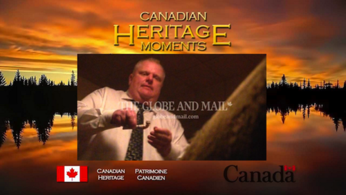 When we think of Canada, what comes to mind? Maple syrup? Hockey? Nope - Crack Mayor!