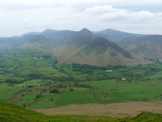 Newlands valley with Causey Pike
