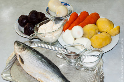 ингредиенты на Шубу