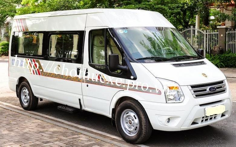 cho thuê xe Ford Transit DCar 2014