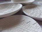 lace print plates