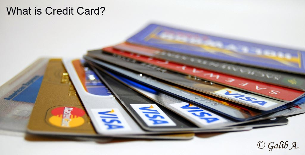 what is credit card meaning
